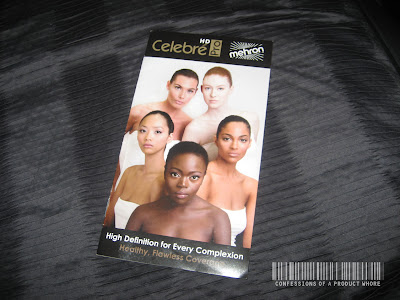 Mehron Celebre Pro HD Foundation review and Swatches