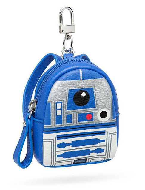 R2-D2 Mini Backpack Keychain