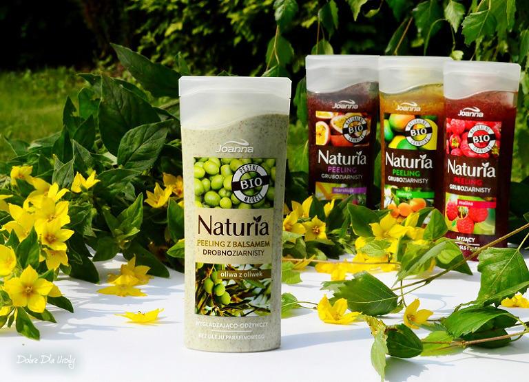 Peelingi z naturalnymi granulkami Joanna - peeling drobnoziarnisty Oliwa z oliwek