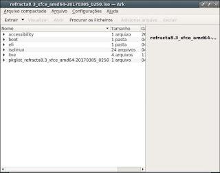 Ark descompactador de arquivos Kde