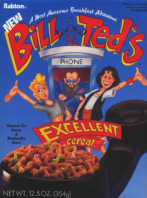 Bill and Ted's Cereal Vintage