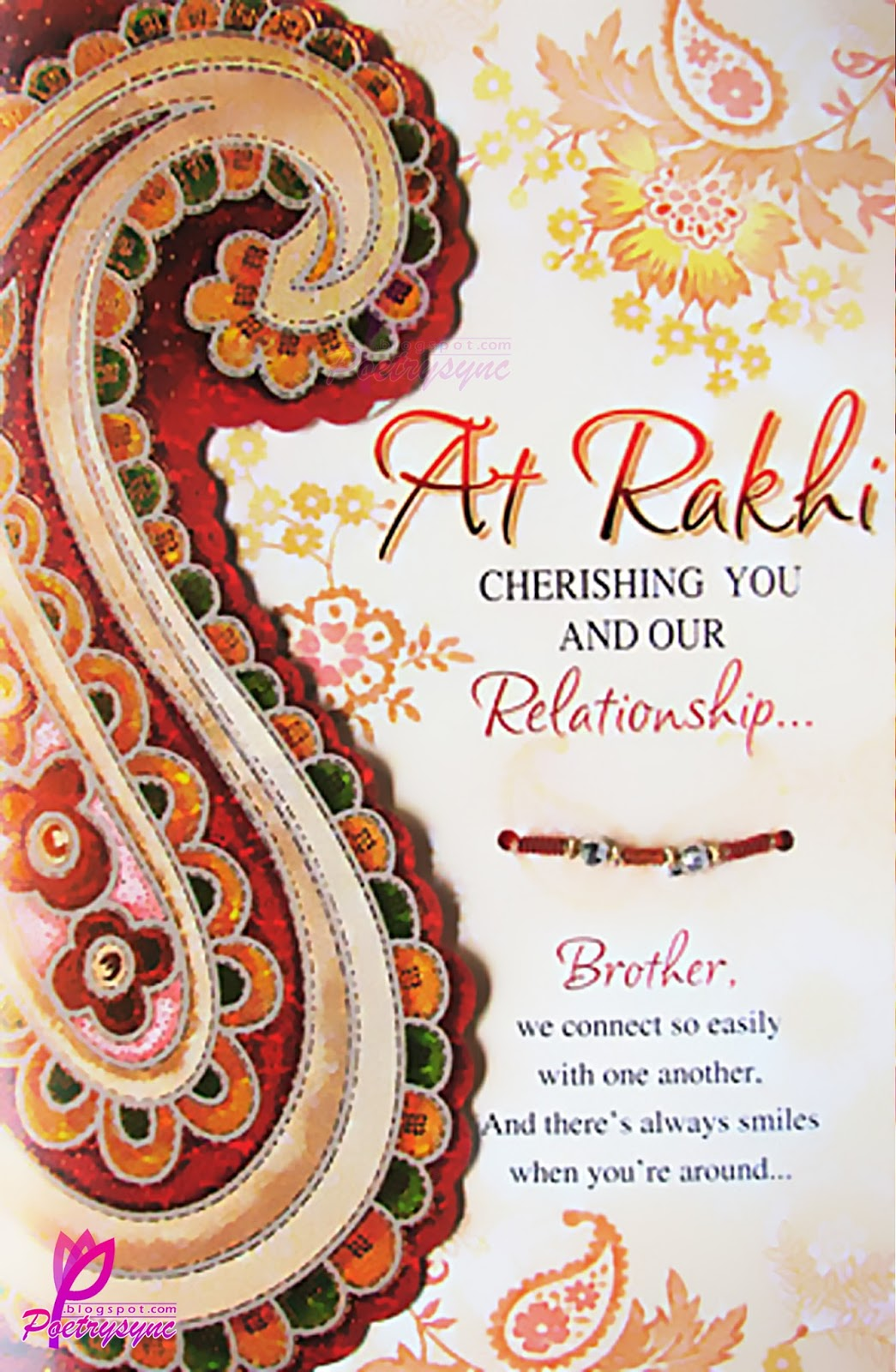 Rakhi Sms Messageswallpaper And Quotes For Brother And Sister