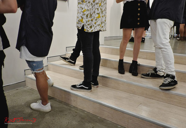 Shoes, GORO at m2 gallery. Photographed by Kent Johnson for Street Fashion Sydney.