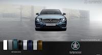Mercedes E300 AMG 2018 nhập khẩu màu Xanh Kallait 997