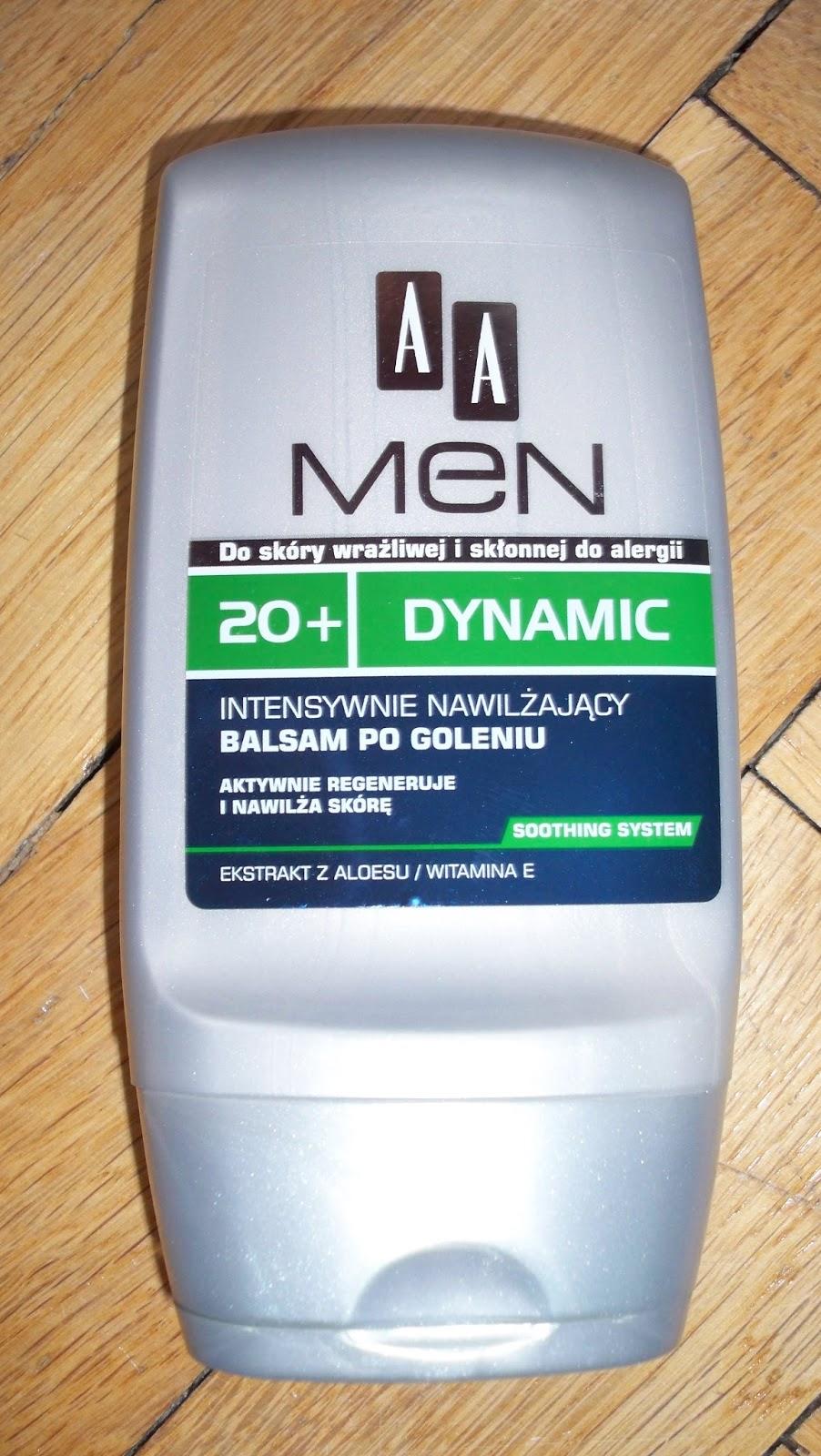 Balsam po goleniu 20+ DYNAMIC firmy AA