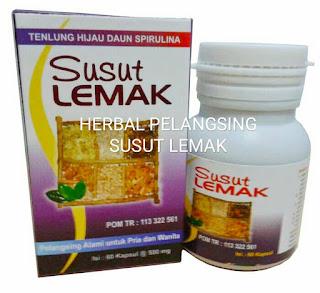 Jual SUSUT LEMAK Kapsul Pelangsing Herbal Alami di Surabaya.