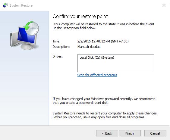 Cara Membackup dan Restore System di Windows 10 | Just A