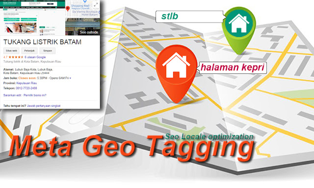 Setting Meta Geo Tagging Website (Blogger)