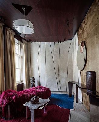 интерьер стильный стена панель