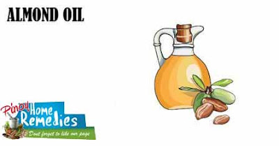 Home Remedies For Dark Circle: Almond Oil