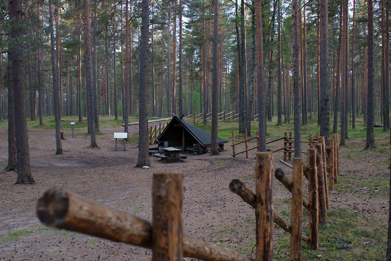 Ruskalaavu, Hämeenkangas, Kankaanpää