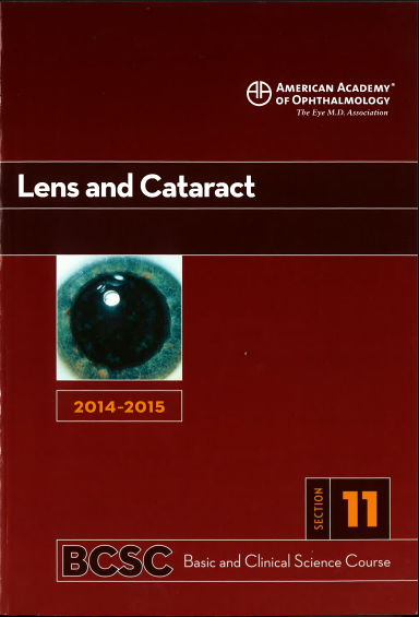 [AAO 2014-2015] Section 11 Lens and Cataract [PDF]