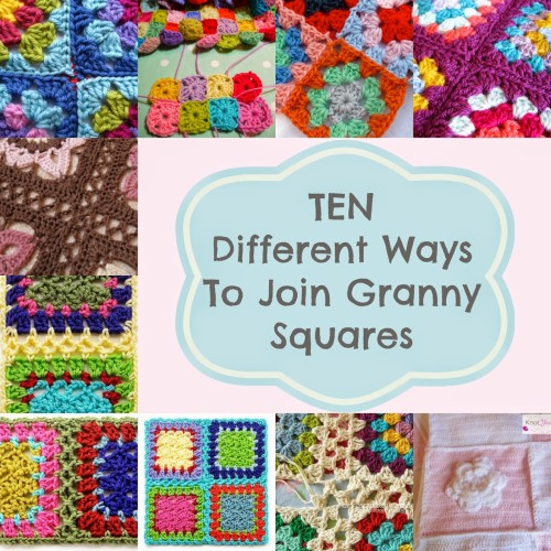Different Ways To Join Granny Squares