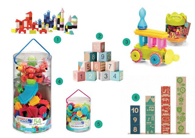 klocki, zabawki na 1 urodziny dziecka