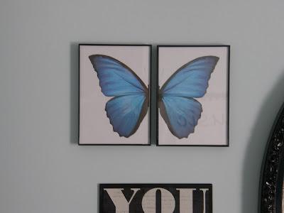 Pottery Barn Teen Knock Off Butterfly Wall Art