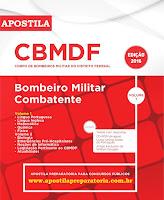 Apostila Corpo de Bombeiro Militar DF para concurso CBMDF.