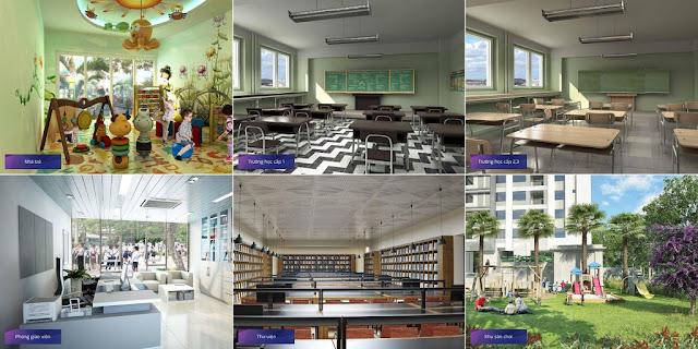 Trường học tại Goldmark City