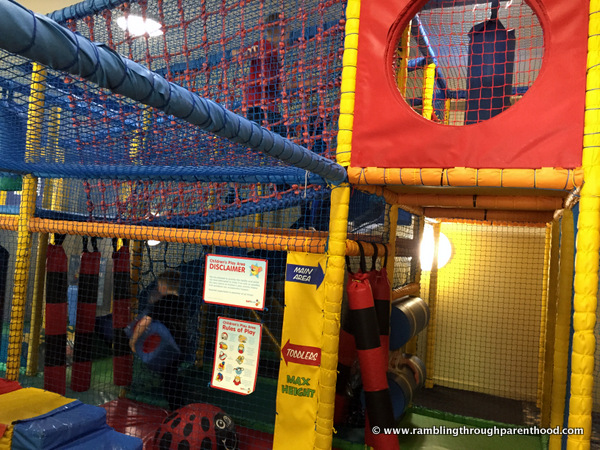 There is always soft play -Half term May-Hem at Brewers Fayre