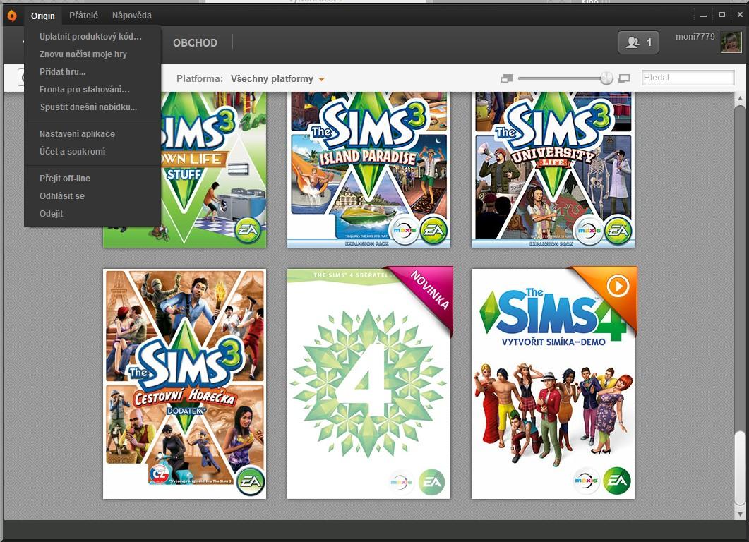 the sims 4 jak stáhnout