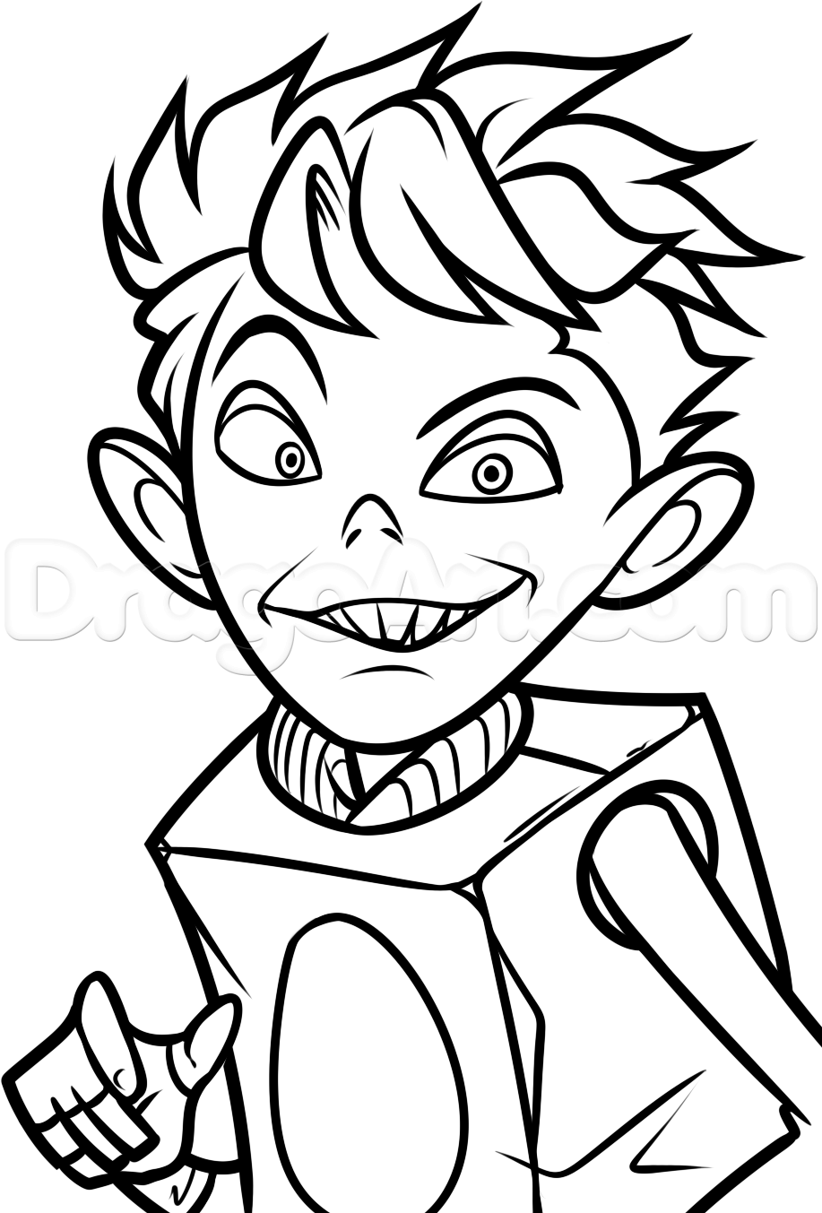 boxtrolls coloring pages - photo#10