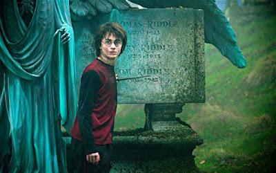 Cementerio de la cuarta película de Harry Potter