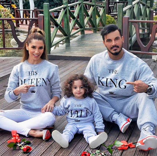 Aww! This family is so adorable