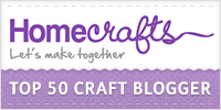Homecrafts Top 50 Craft Bloggers