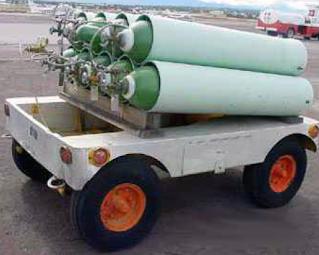 Aircraft Oxygen System Servicing