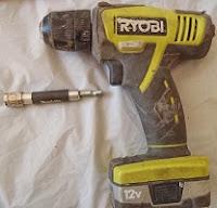 Ryobi Cordless Drill Bit with Makita bit holder