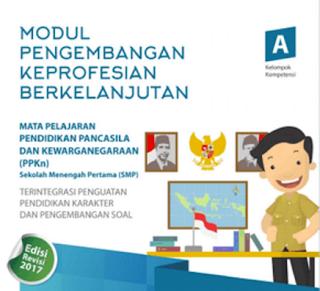 Modul PKB SMP Mapel PPKn tahun 2017