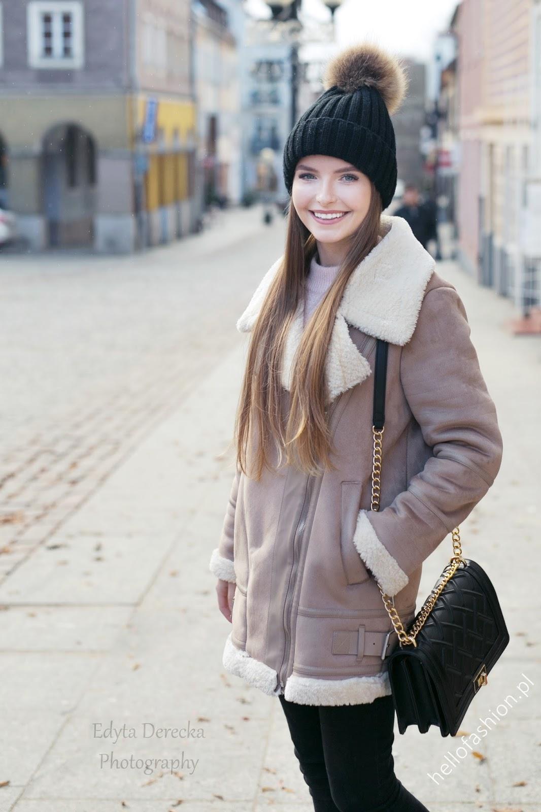 kożuch płaszcz sheraling coat