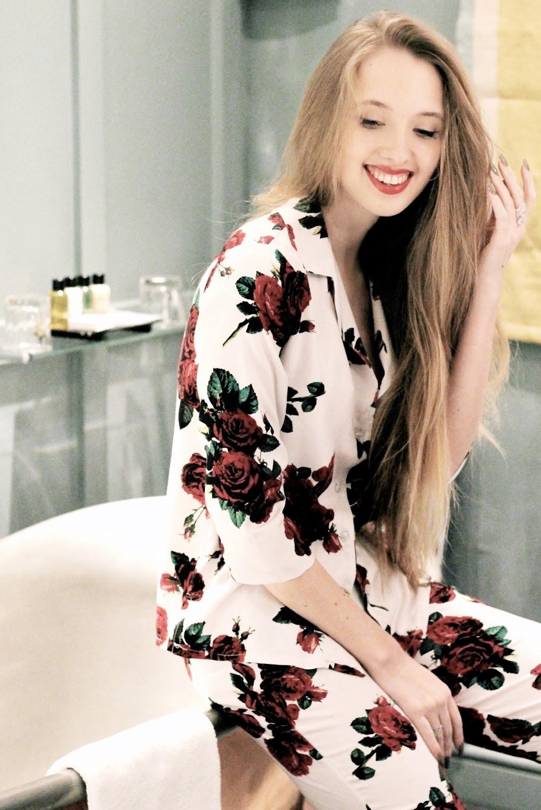 Romantic womens pyjamas for Valentine's Day