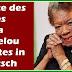Zitate des Tages weisheiten sprüche zitaten Maya Angelou