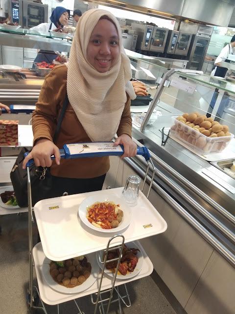 Pengalaman Makan Meatballs di IKEA, Cheras