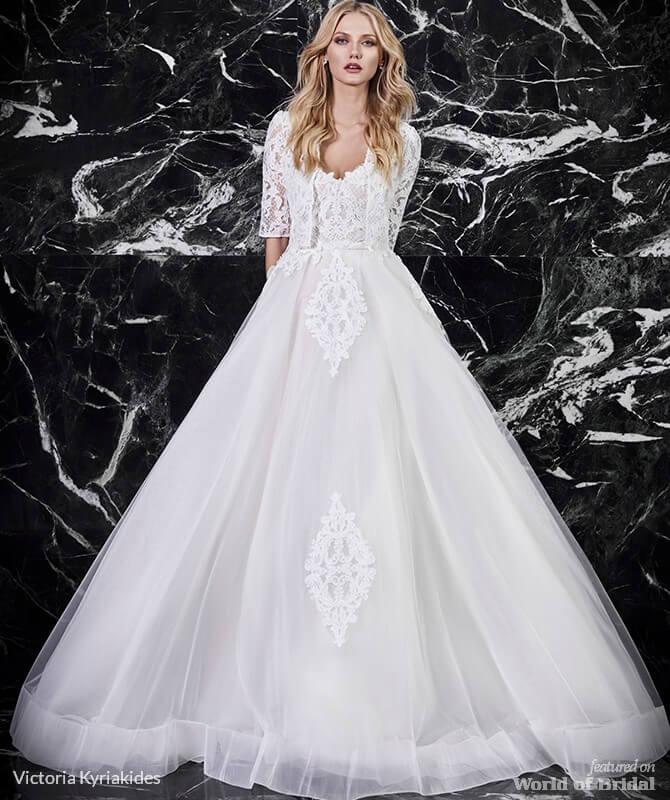 dfa3fde5109 Victoria Kyriakides Spring 2018 Wedding Dresses - World of Bridal