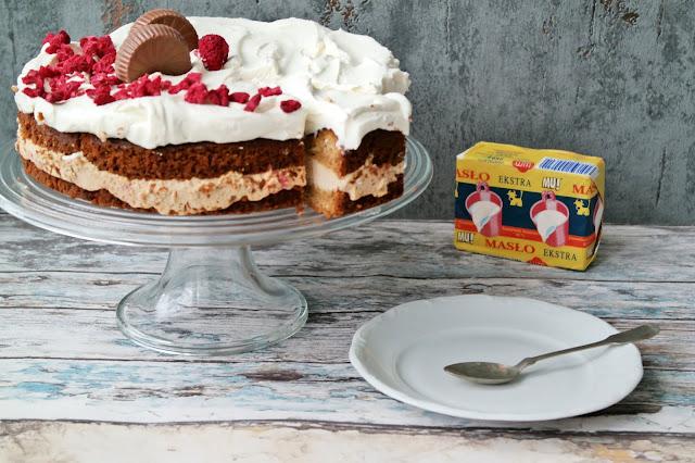 tort biała czekolada