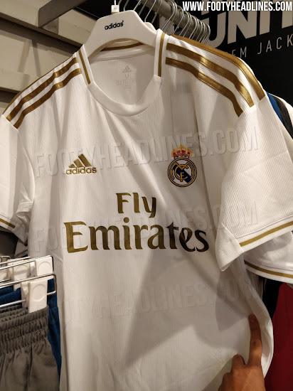 ab9364917 Real Madrid 19-20 Home Kit Leaked - Footy Headlines