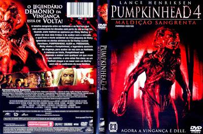 Filme Pumpkinhead 4 - Maldição Sangrenta (Pumpkinhead 4: Blood Feud) DVD Capa
