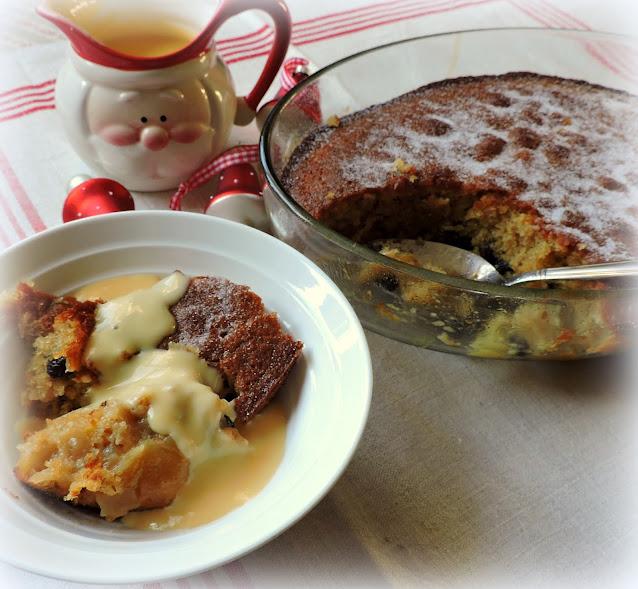 Apple & Mincemeat Pudding
