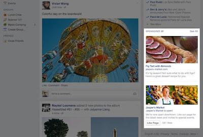contoh iklan right side iklan facebook