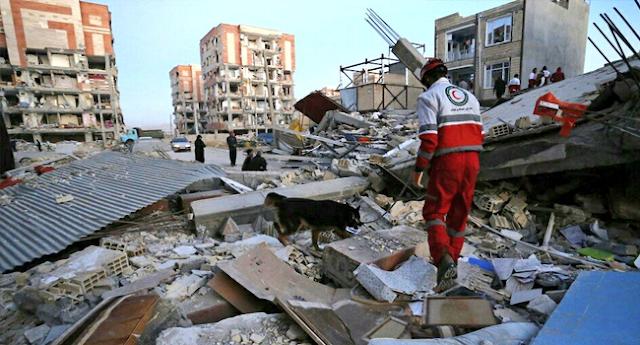 445 muertos y 7.000 heridos: Catastrófico terremoto sacude Oriente Medio