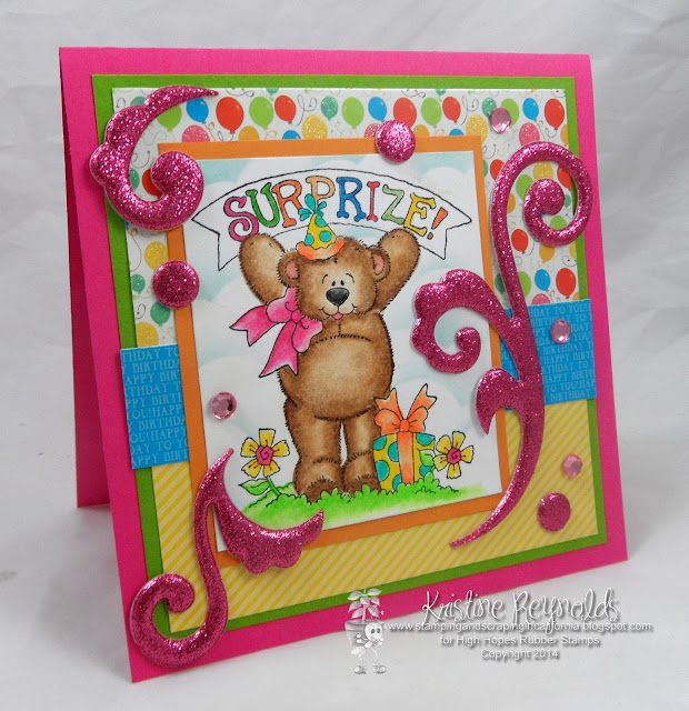 Stamping & Scrapping In California: Happy Birthday Lora