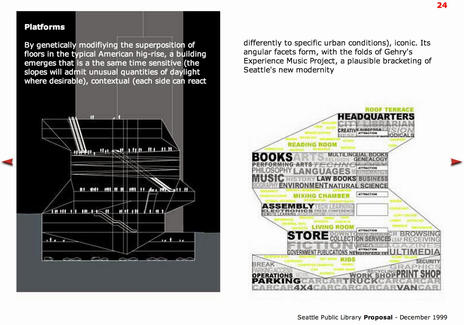 Uncommonplotfall2013 Oma Seattle Public Library Proposal