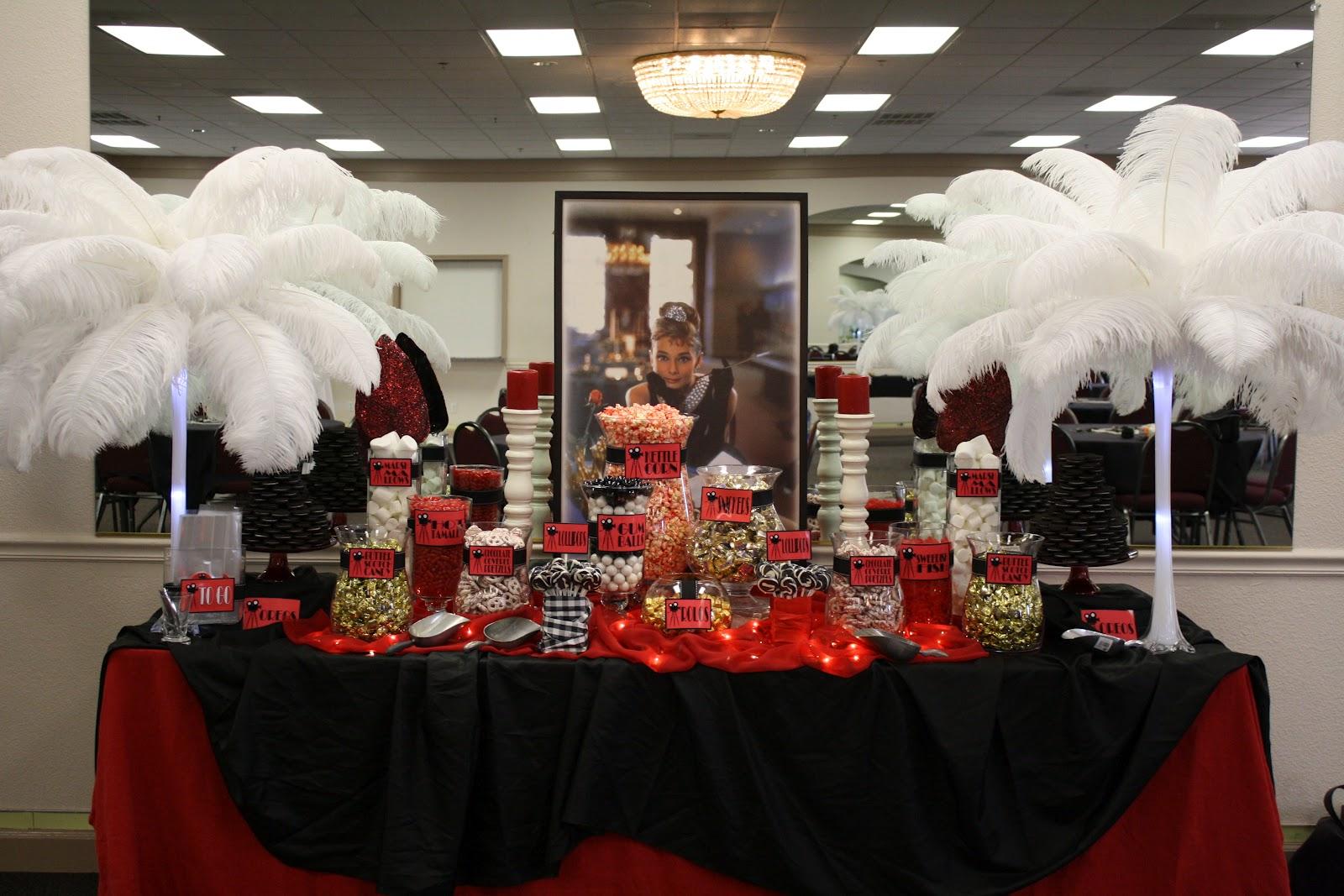 Sugarpalooza Vintage Hollywood Candy Buffet