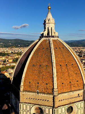 Vue du Duomo de la campanile de Giotto, Florence, Italie