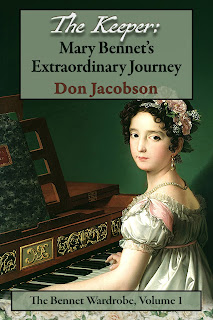 Book Cover: The Keeper: Mary Bennet's Extraordinary Journey by Don Jacobson