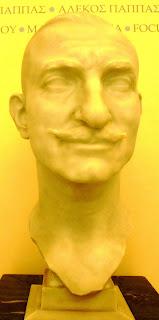 προτομή του Αντώνη Μπενάκη  στο Μουσείο Μπενάκη
