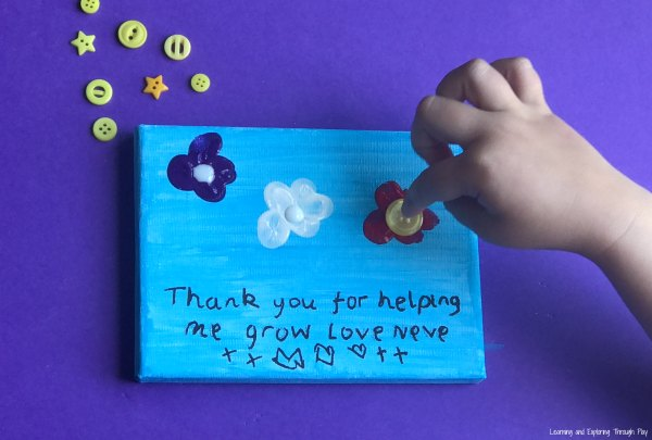 Thank you for Helping me Grow. End of year Teacher Gifts. Mothers Day Gifts. Fathers Day Gifts.