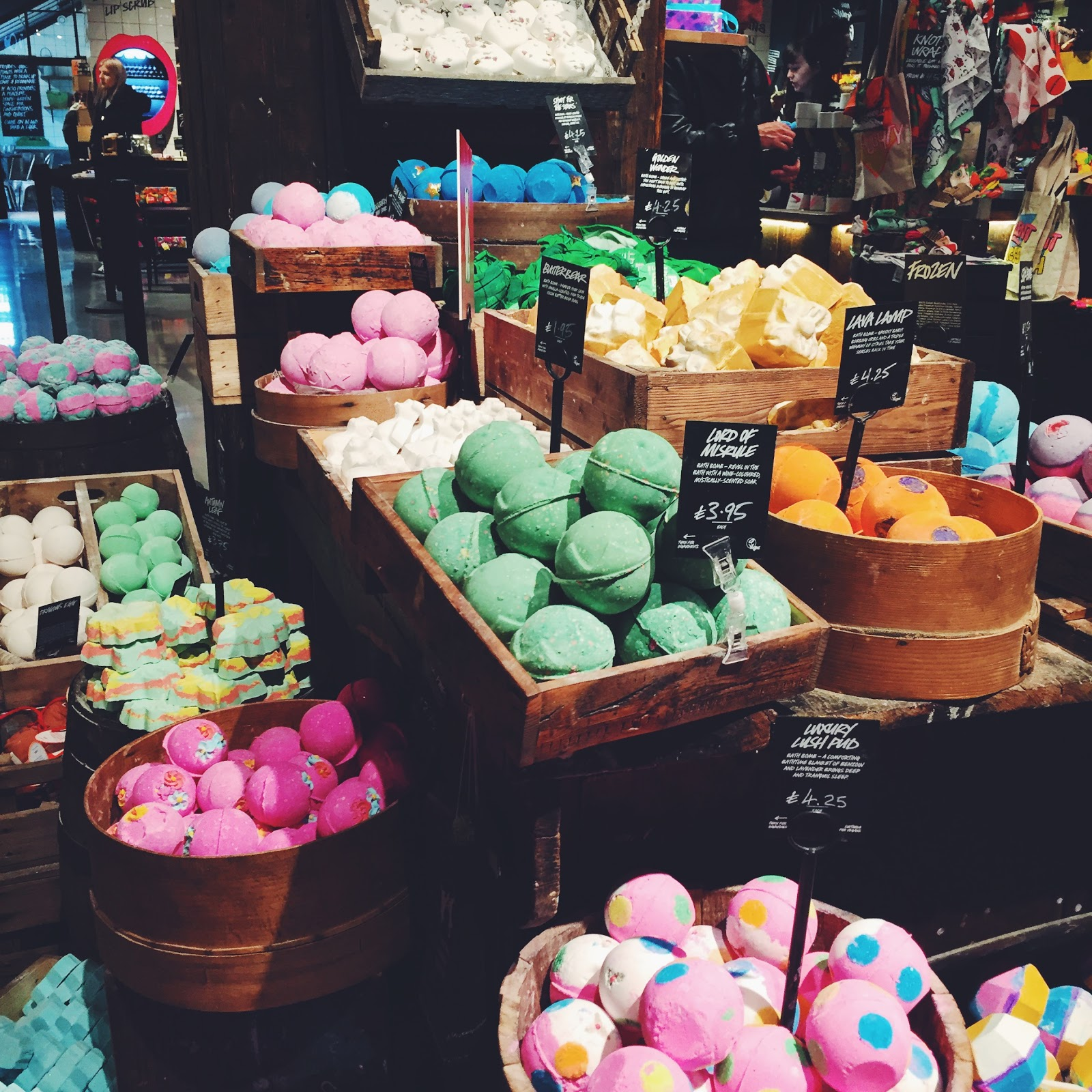 LUSH Store, Life in Excess Blog
