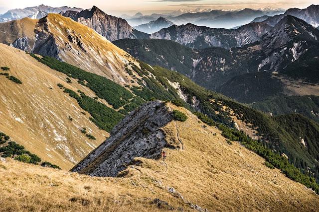 trail fleischbank karwendel mountainbike bike